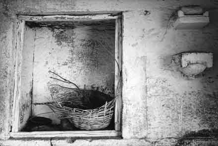 Window Abstract,Fort Pokharan,gelatin silver print