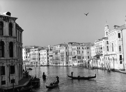 The Grand Canal,Venice,gelatin silver print